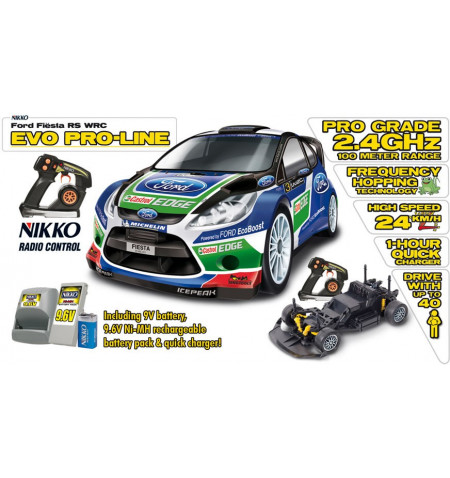 Evolution Pro-Line Ford Fiesta WRC