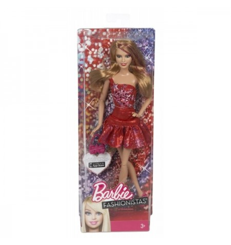 Barbie Fashionistas Red Doll