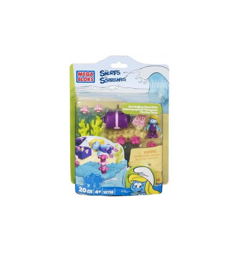 The Smurfs Assortment - Snorkelling Smurfette
