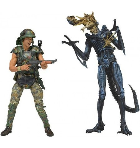 Alien - Hicks vs Blue Warrior