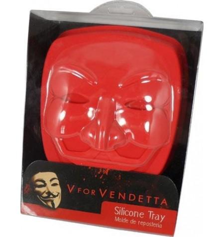 Silicone Cake Pan - Mask V for Vendetta