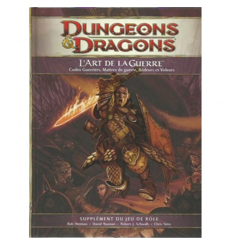 Dungeons & Dragons 4 : Art de la Guerre