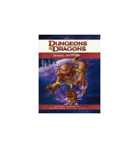 Dungeons & Dragons 4: Manuel des Plans - French