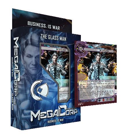 MegaCorp TCG - Starter Deck - The Glass Man
