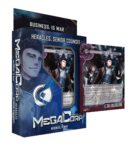 MegaCorp TCG - Starter Deck - Heracles, Senior Counsel