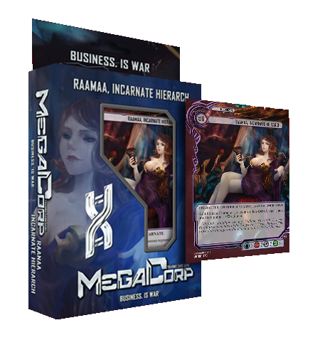 MegaCorp TCG - Starter Deck Raamaa, incarnate hierarch, English