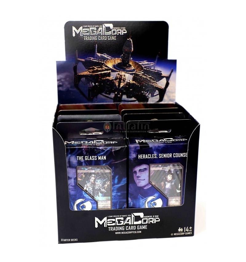 MegaCorp TCG - Starter Deck Display(8) English