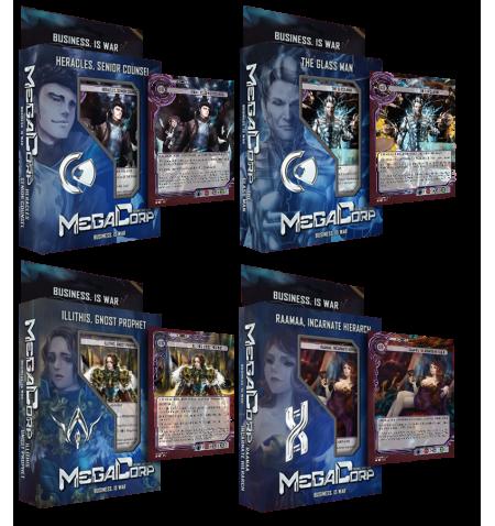 MegaCorp TCG - Business is War - 4 Starter Bundle