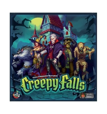 Creepy Falls - Jeu de plateau Version Française
