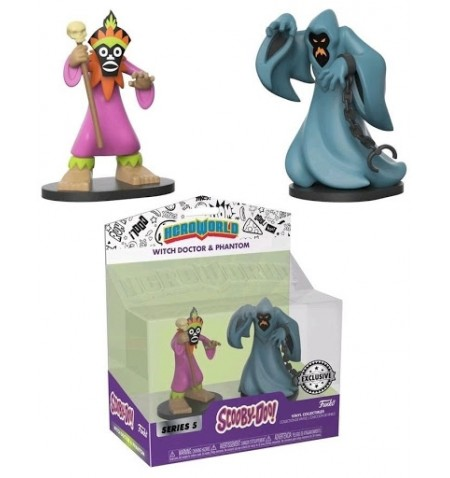 Hanna Barbera - Scooby Doo - Phantom and Witch Doctor 2-pack