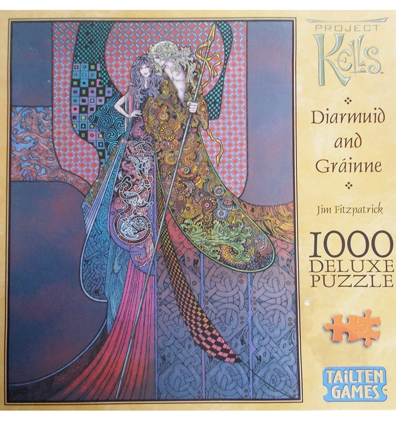 Diarmuid and Gräinne 1000 piece Deluxe Puzzle
