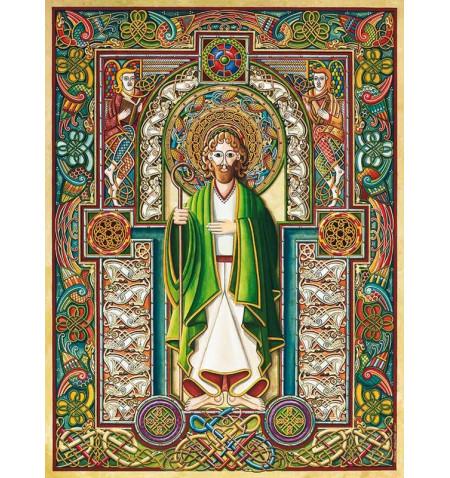 Saint Patrick -Deluxe Puzzle of 1.000 pieces
