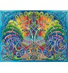 Courting Peacocks 1000 Pices Deluxe Puzzle