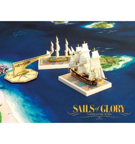 Sails of Glory Napoleonic wars Starter Set Board Game