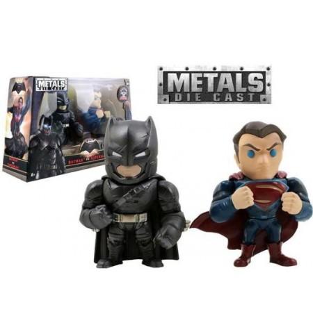 Metals - M9 - Batman vs Superman -2-pack Batman & Superman