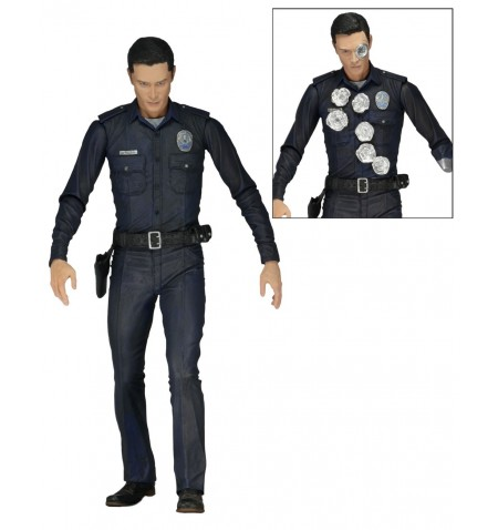 """Terminator Genisys 7"""" Scale Action Figure T-1000 Police Disguise"""