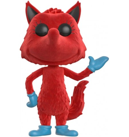 Funko Books 07 POP - Dr Seuss - Fox in Socks Flocked LIMITED