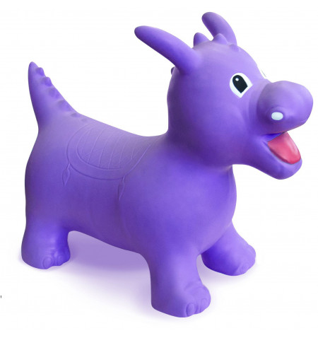 Happy Hopperz Purple Dino
