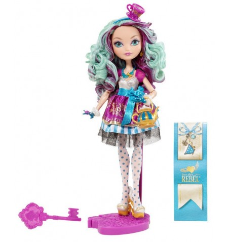 "Ever After High ""Rebel"" Madeline Platter"