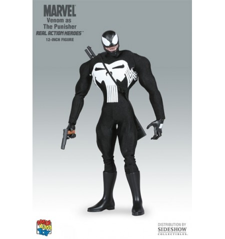 "Venom as Punisher 12"" RAH Figure"