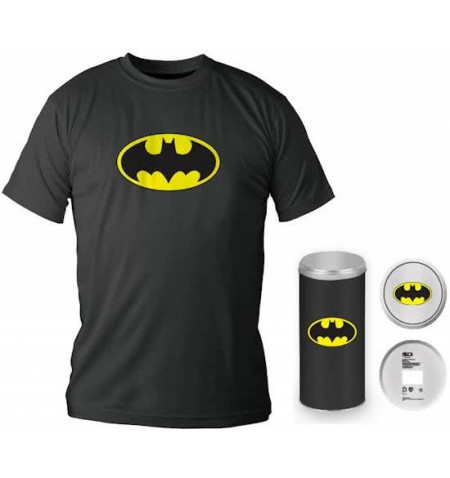 Batman Logo Black T-shirt XXL