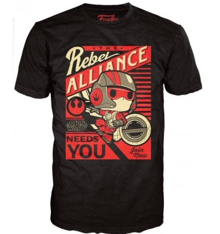 POP Tees 50 - Star Wars - Poe Dameron (XXL)