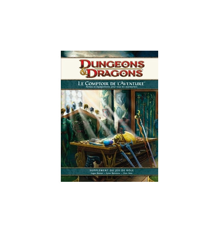 Dungeons & Dragons 4: Comptoir de l'aventure - French