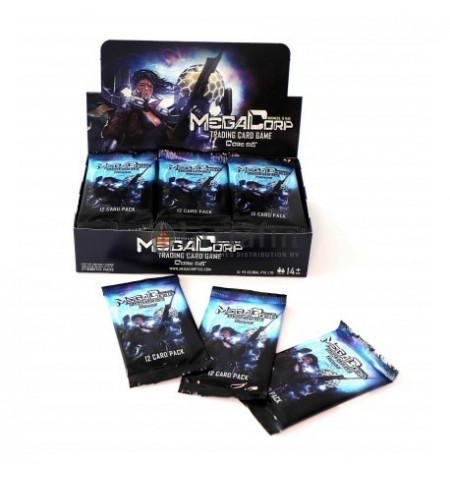 MegaCorp TCG - Booster Display English (27 booster packs)