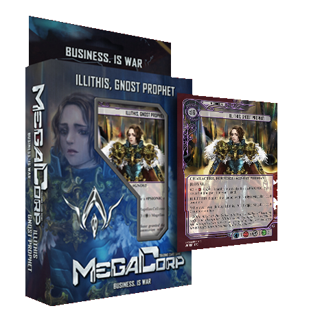 MegaCorp TCG - Starter Deck - Illithis, Gnost Prophet