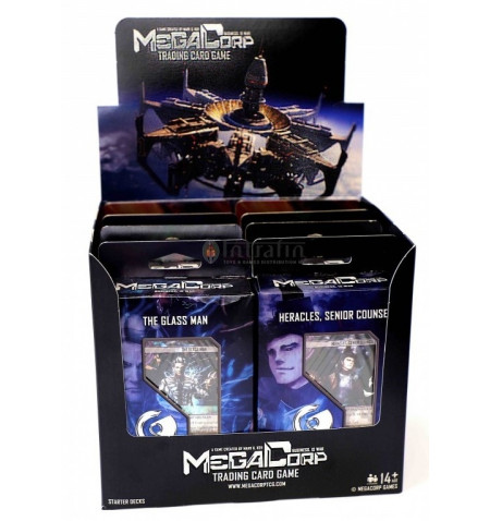 MegaCorp TCG - Starter Deck Display(8) English