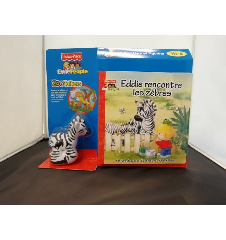 Little People ZooTalkers: Eddie Rencontre les Zebres