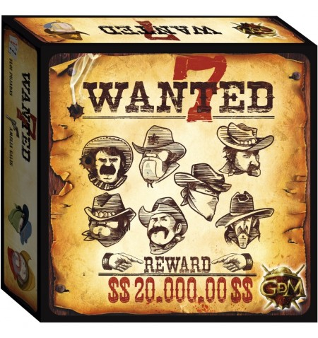 Wanted 7 - Board Game EN-FR-IT-NL