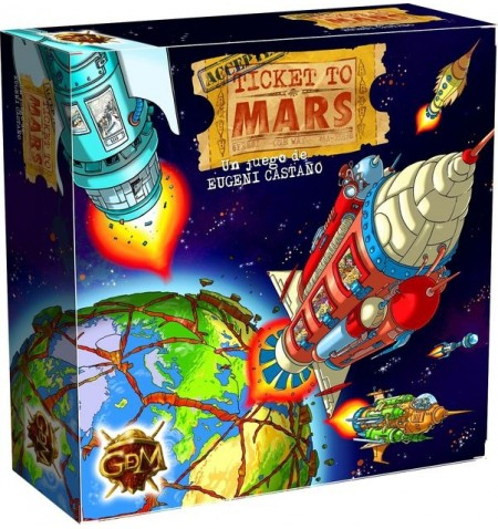 Ticket to Mars EN-FR-IT-NL