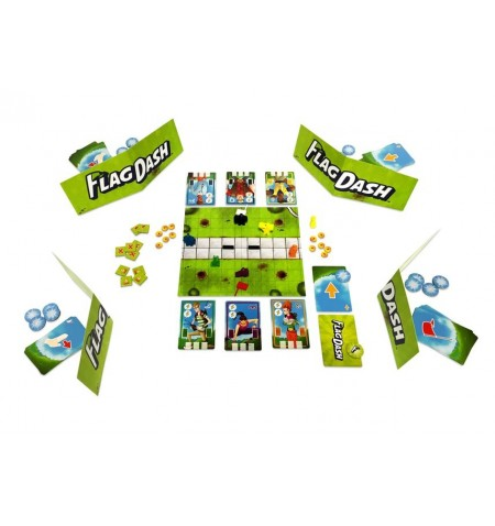 Flag Dash Boardgame