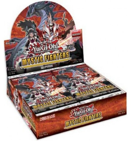 Yu-Gi-Oh! Mystic Fighter booster display (24)