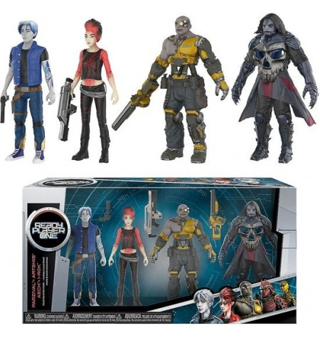 Action Figure - Ready Player One - 4-Pack - Parzival, Aech, Art3mis and i-R0k