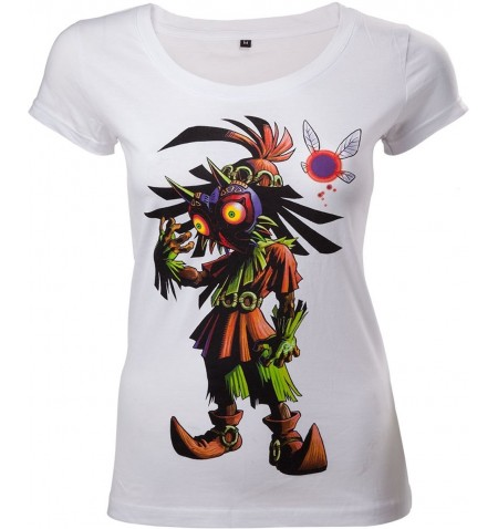 Zelda Majora's mask female T shirt Skull Kid Large