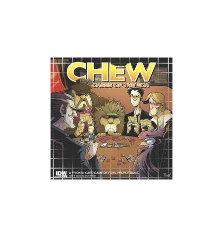 Chew Cases of the FDA Card Game
