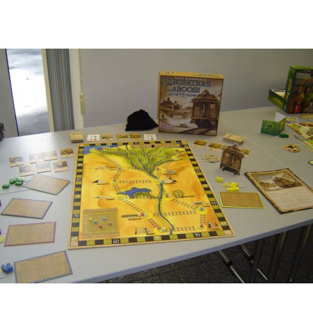 Cleopatra's Caboose Board Game (English)