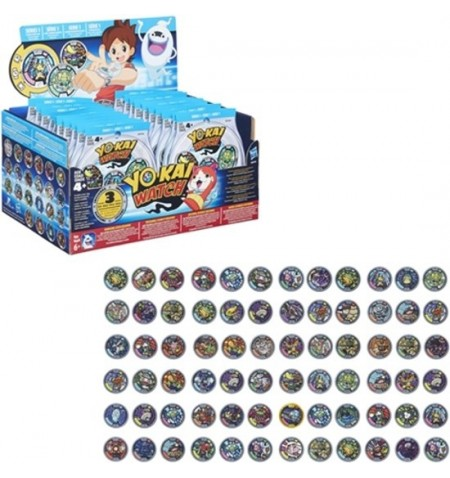 YoKai blind bags medals (3) display 24 pieces