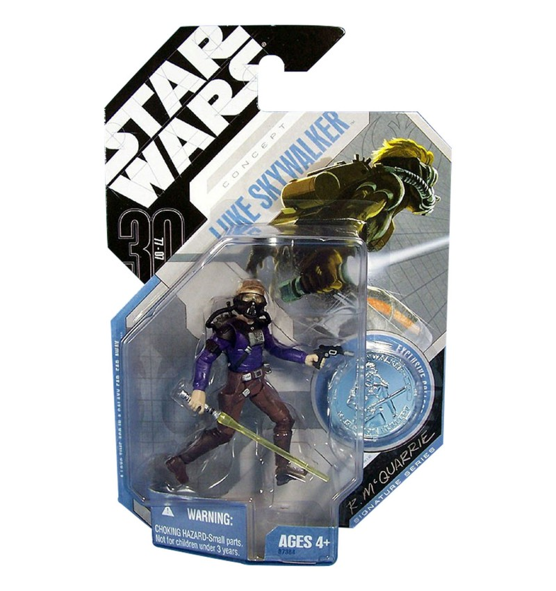 Star Wars 30th Ann McQuar. Luke Skywalker