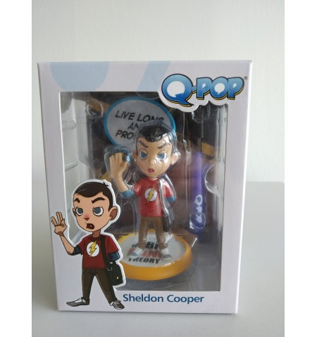The Big Bang Theory - Sheldon Q-Fig Figure