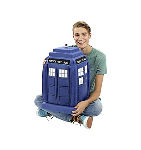 "Doctor Who Talking 24"" Plush TARDIS with LED light-up"