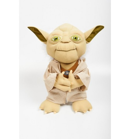 Star Wars - Talking Plush - 38cm Yoda Deluxe