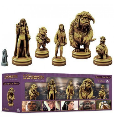 Jim Henson's Labyrinth expansion: Deluxe Game Pieces