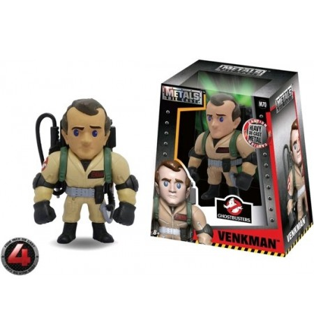 Metals - M70 - Ghostbusters - Peter Venkman 4""