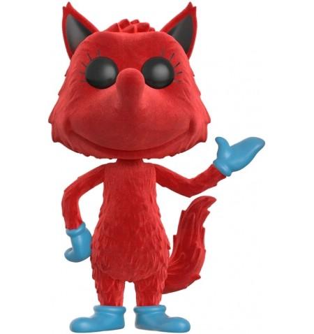 Funko Books 07 POP - Dr Seuss - Fox in Socks Flocked LIMITED