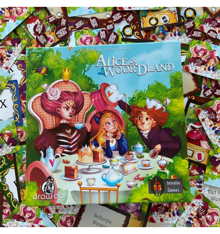 Alice in Woordland Nederlandstalig - bordspel