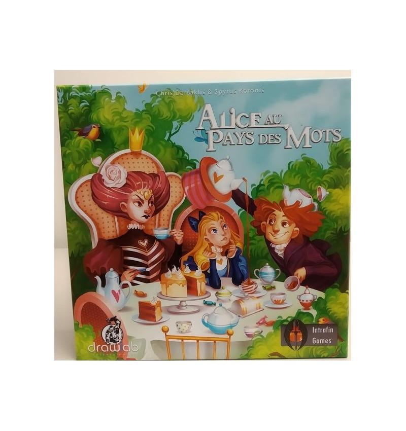 Alice au Pays des Mots FR - jeu de plateau