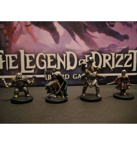 Dungeons & Dragons Legend of Drizzt boardgame